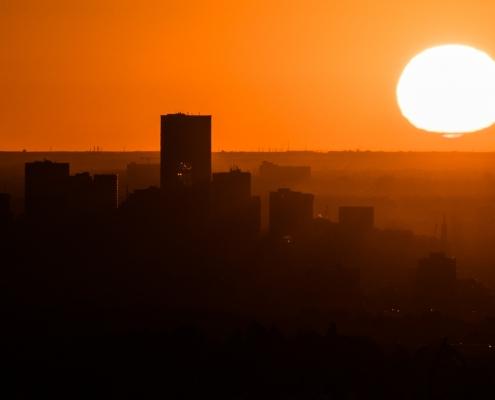 radiant solar energy